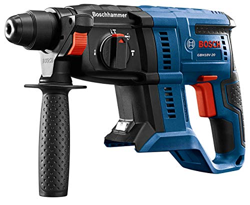 Bosch GBH18V-20N 18V 3/4 in. SDS-plus Rotary Hammer (Bare Tool) (Renewed)