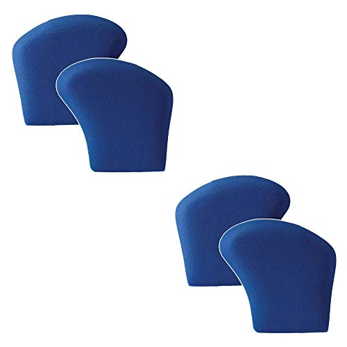 Powerstep unisex adult 2 Pack Ball of Foot Cushions, Blue, Small US