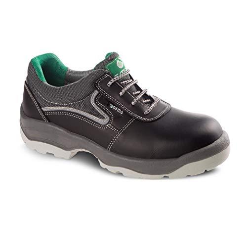Zapatillas de Seguridad hidrofugada Resistente al Agua para Hombre y Mujer/Zapato Trabajo Comodos con Puntera Reforzada en Fibra de Vidrio (no Acero) Calzado Laboral Antideslizantes (Numeric_44)