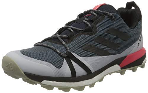 adidas Mens Terrex Skychaser LT Walking Shoe, Legacy Blue/Core Black/Shock Red, 44 EU