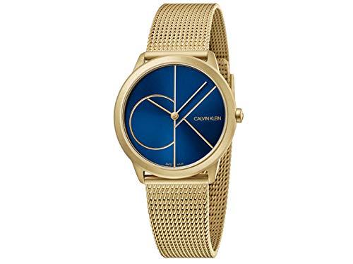 Calvin Klein Reloj Analógico para Mujer de Cuarzo con Correa en Acero Inoxidable K3M5255N