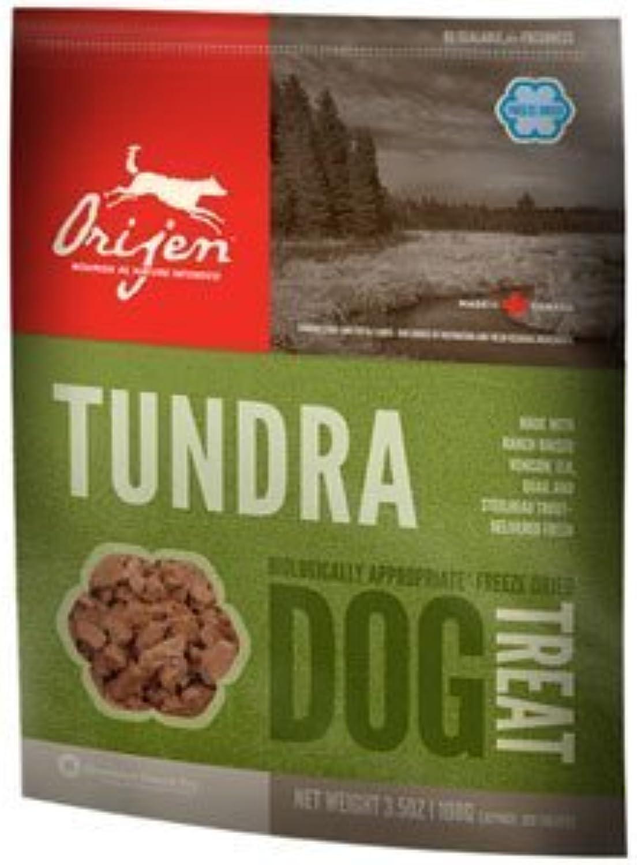 Orijen Tundra Treats FreezeDried Dog Treats, 3.5oz bag (100) by ORIJEN (English Manual)
