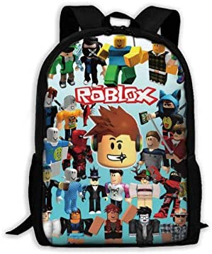 suzzc Ro blox Backpack Waterproof Laptop Daypack for College Cycling Climbing product image