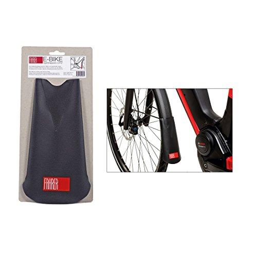 FAHRER E-Bike Latz Spritzlappen, schwarz, Einheitsgröße