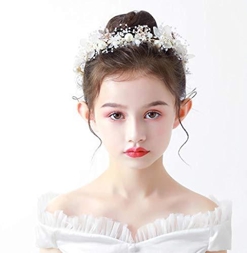 Kinderen Garland Headdress Meisje Hoofd Bloem Haarband Kind Kroon Sieraden Koreaanse Versie van De Mori Meisjes Bloem Show Haar Hoop