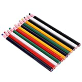Crayones de marcado de ropa, 12 piezas Crayones de marcado de ropa Lápices de cera de marcado de dibujo de tela coloridos despegables