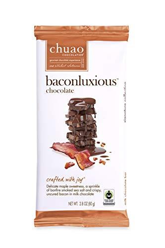 Chuao Chocolatier Baconluxious/Maple Bacon Chocolate Bar (12-pack)