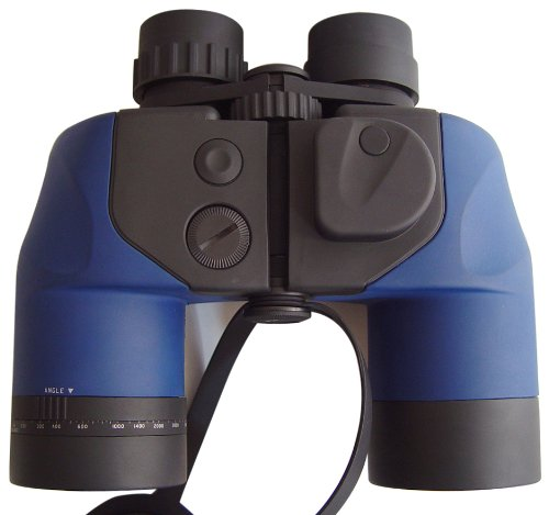 Bresser 7x50 Marine-Fernglas wasserdicht (7X Vergrößerung, 50mm Objektivdurchmesser) mit Kompass