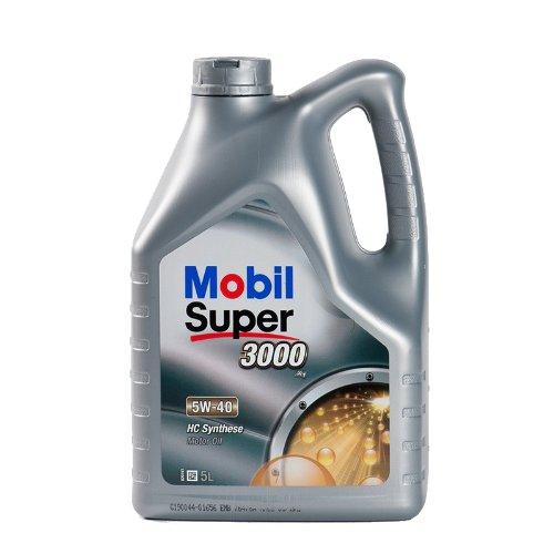 Mobil Super 3000 X1 5W-40 / 5-Liter-Kanister