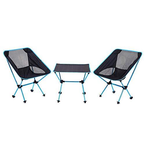 JAORUNNING Neue Aluminium Klapptisch Und Stuhl DREI Stück Tragbare Outdoor Camping Grill Mehrzweck Tisch Und Stuhl Set