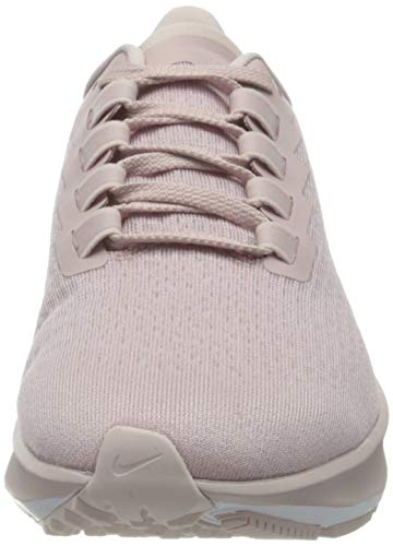 Nike Air Zoom Pegasus 37, Running Shoe Mujer, Champagne/Barely Rose-White, 39 EU