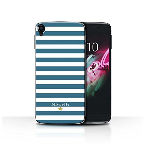 Stuff4Phone Case/Cover/Skin/alcidl355/Custom Stripes/Striped Collection Coeur Rayure Cerise