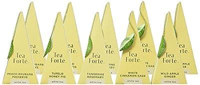 Tea Forté Coffret Garden Harvest Assortiment Thé Blanc Bio 20 pyramides