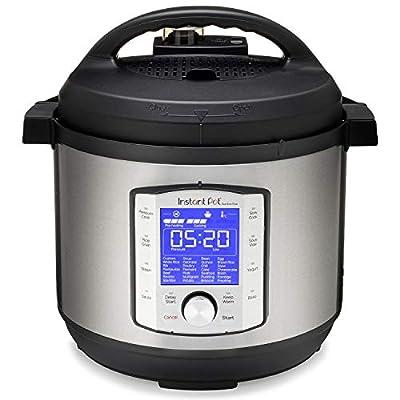 Instant Pot Duo Evo Plus 9-in-1 Electric Pressure Cooker, Slow Cooker, Rice Cooker, Grain Maker, Steamer, Saute, Yogurt Maker, Sous Vide, Bake, and Warmer 8 Quart Easy-Seal Lid 14 Programs from Instant Pot