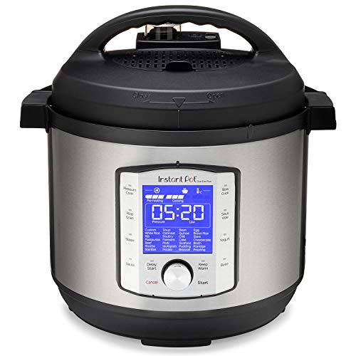 Instant Pot Duo Evo Plus 9-in-1 Electric Pressure Cooker, Sterilizer, Slow Cooker, Rice Cooker, Grain Maker, Steamer, Saute, Yogurt Maker, Sous Vide, Bake, and Warmer, 8 Quart, 10 Programs