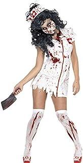 LDSSP Costumi di Mummia per Adulti Costume di Halloween Costumi di Infermiere di Sangue per Donne Costumi di Zombie Cospla...