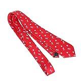 VALICLUD Weihnachtskrawatte Klassische Feiertagskrawatte Neujahrskleid Krawatte Party Krawatte für Herren Jungen 148X7. 5Cm