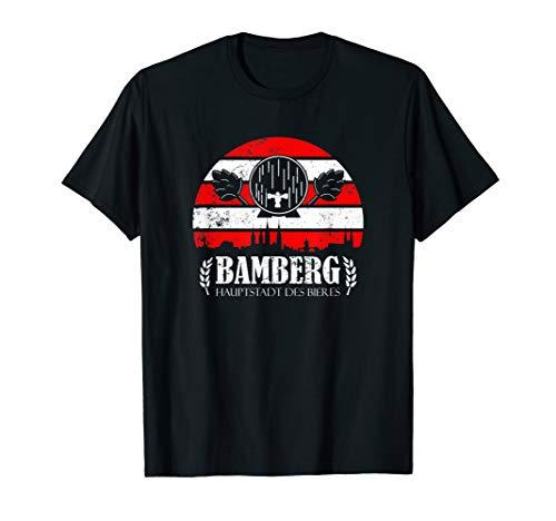 Bamberg Geschenk für einen Bamberger Bier Liebhaber T-Shirt