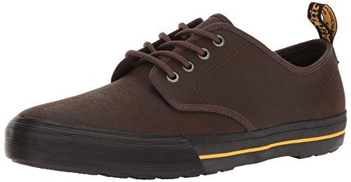Dr. Martens Unisex-Erwachsene Pressler Sneaker, Braun (Dark Brown 201), 48 EU