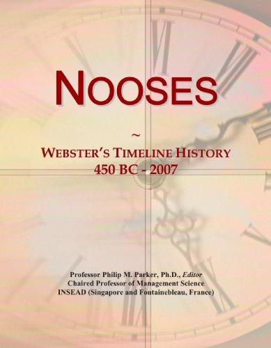 Nooses: Webster's Timeline History, 450 BC - 2007