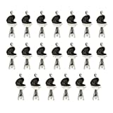 Harilla 20pcs BBQ Grill Charm Chef Jewelry Foodie Gift Cook Accessory Findings Beads