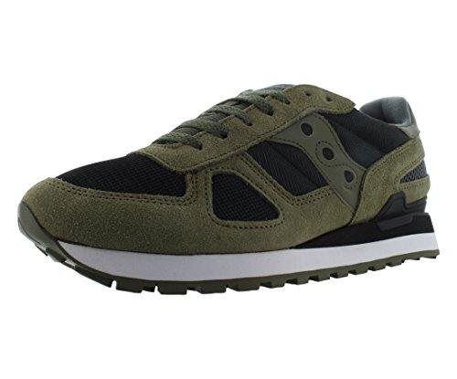 Saucony Shadow Original, Zapatillas de Cross Hombre, Verde (Olive/Black), 43 EU