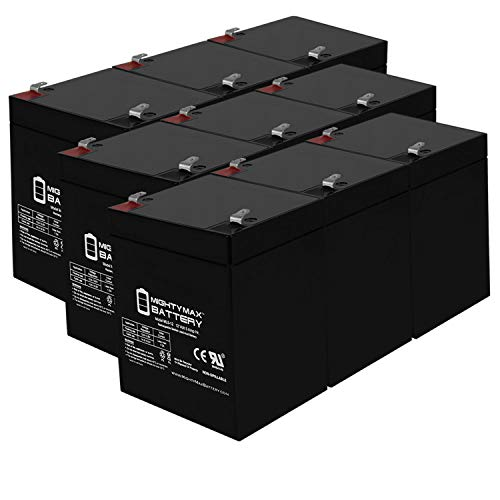 Mighty Max Battery 12V 7Ah UPS Battery for Liebert PowerSure GXT GXT1000MT-120-6 Pack Brand Product