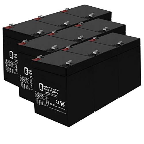 Mighty Max ML5-12 12V 5AH Schumacher SB 1245-F1 AGM SLA Power Sport Battery Re