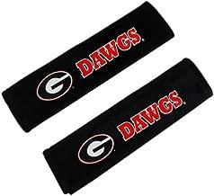 Fremont Die Pair of Officially Licensed NCAA Seat Belt Pads - Georgia Bulldogs