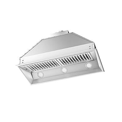 "Z Line 695-304-40 40"" 1200 CFM Outdoor Range Hood Insert in Stainless Steel"