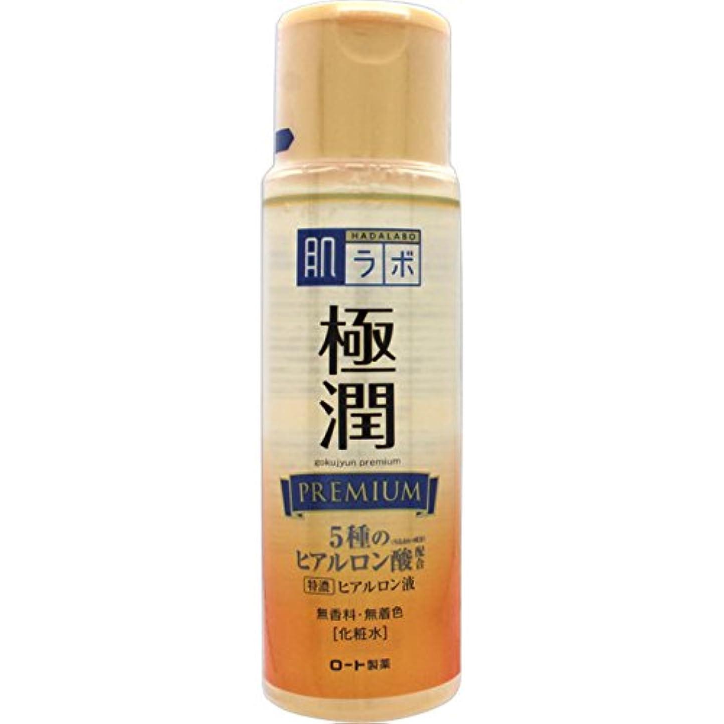 異議ヘア取り壊す肌ラボ 極潤プレミアム 特濃ヒアルロン酸 化粧水 ヒアルロン酸5種類×サクラン配合 170mL