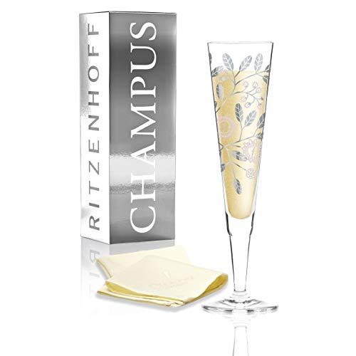 RITZENHOFF Champus Jahrgangs-Champagnerglas 2017 von Burkhard Neie