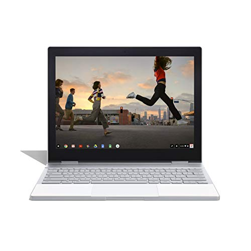 "Google Pixelbook (512 Go SSD, 16 Go de RAM, Clavier QWERTY UK, Intel Core i7, Chrome OS) écran Tactile Wi-FI Ordinateur Portable 12,3"" (Argent) - Version Internationale"