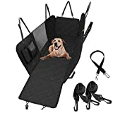 LIFEWAY Dog Car Seat Cover & Seat Belt, Reinforced Pet Car Seat Cover