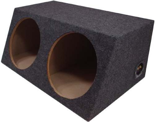 american sound connection car subwoofers American Sound Connection H210 2 x 10-Inch Deep Angle Round Sub Box (Dual)
