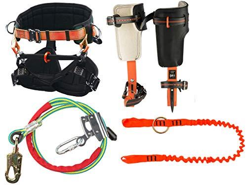 Treeup Starterset Hobby Grundausrüstung Fällung Kletterausrüstung Sicherungsseil