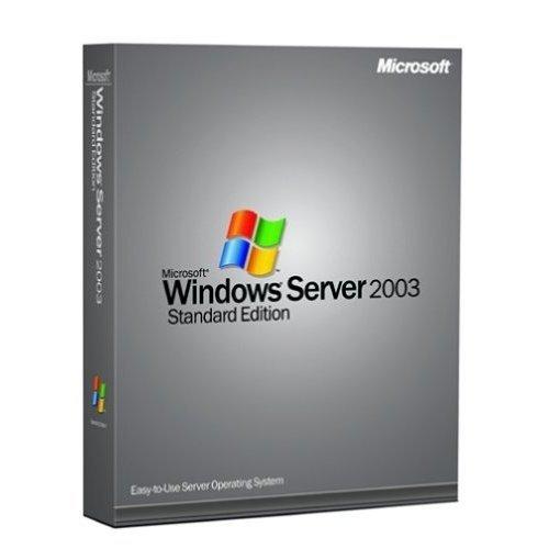 Microsoft Windows Server 2003 R2a Enterprise Edition - Licence and media - 25 CALs, 1 server (1-8 CPU) - OEM - CD - English [import anglais]