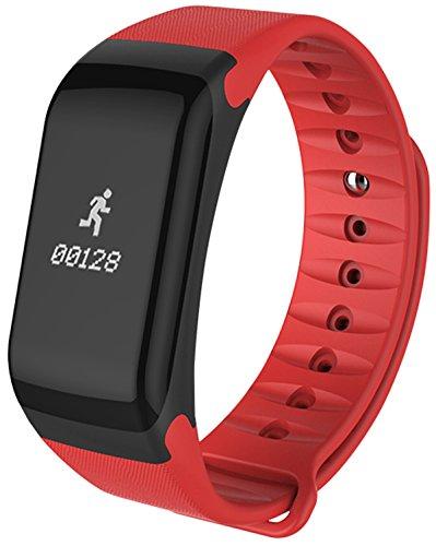 Hombres Mujeres Pulsera inteligente podómetro calorías Heart Rate Monitor presión arterial deporte relojes