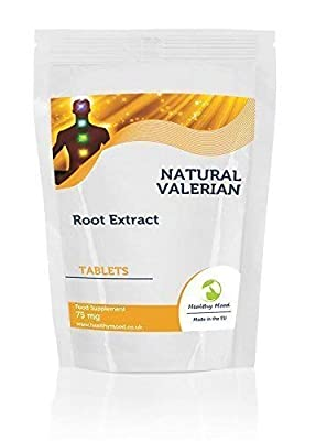 Valeriana Root Extract Concentrate Herb Health Food Supplement Vitamins 90 Tablets Sleeping Pills Anti-Stress Insomnia Nutrition Supplements HEALTHY MOOD from Healthy Mood