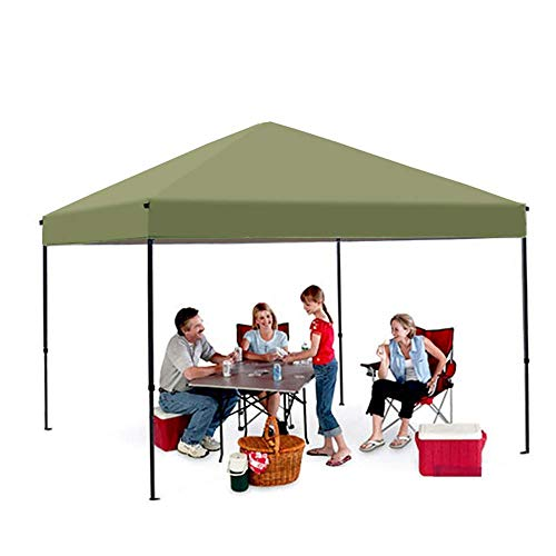 outdoor Gazebo 10' x 10' Instant Shelter Pop-Up Canopy Tent,waterproof,Side cloth and epitaxial curtain can be added, accessories include ground nails/wind rope/storage bag
