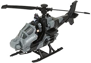 True Heroes Sentinel 1 Combat Helicopter - Gray/Black by Toys R Us