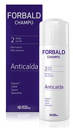 FORBALD – Champú anticaída cabello con vitaminas. Doble acción: f
