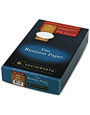 Southworth 25% Cotton Business Paper, 8.5 x 14 inches, 20 lb, White, 500 Sheets per Box (403E)