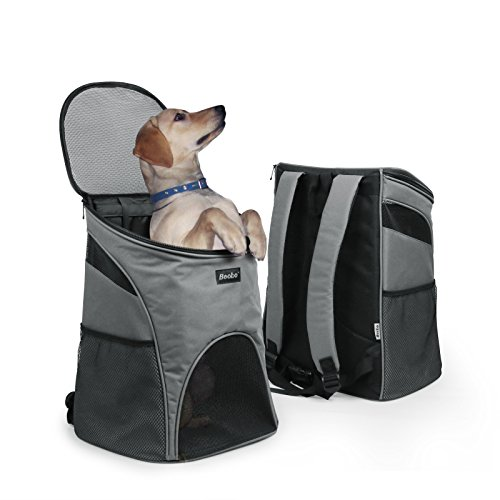 Becko 3 in 1 Scratch-Resistant Pets Bag Carrier/Padded Pet Outdoor...