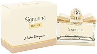 Signoriña Eleganza by Sálvátoré Férrágámó for Women Eau De Párfúm Spray 3.4 oz