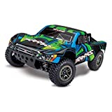 Traxxas 4x4 Ultimate Short Course Remote Control RC Race Truck for Adults and Kids, 1/10 Scale, 4WD, Green