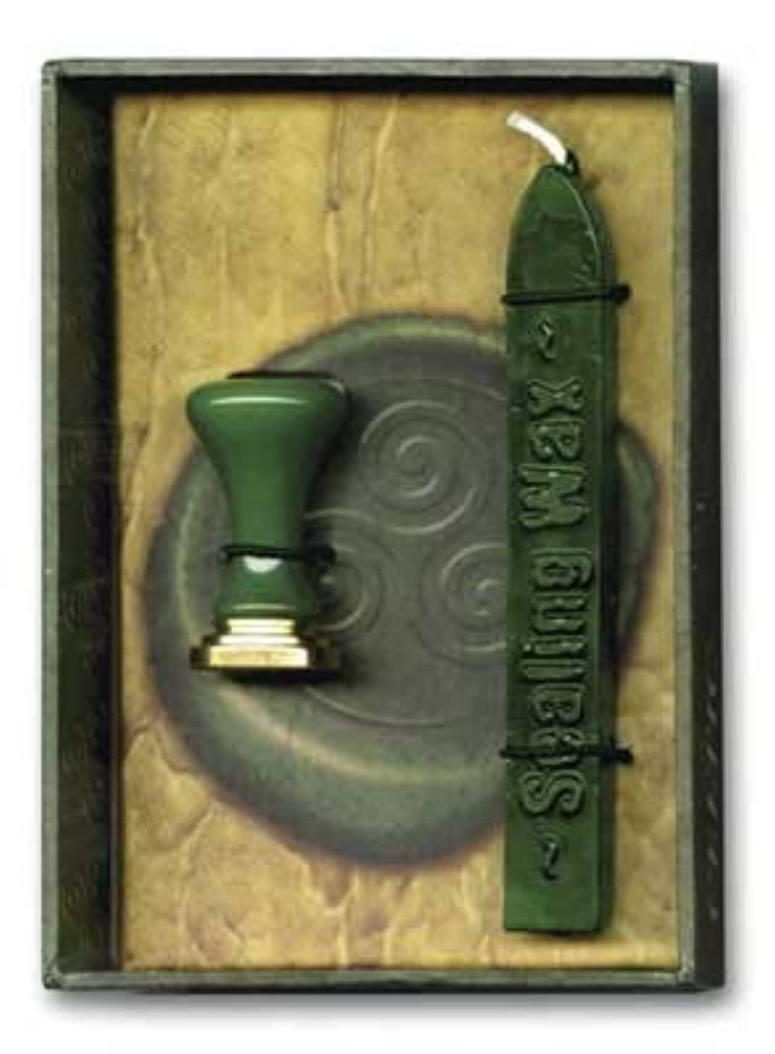 Celtic Sealing Wax and Stamp Kit