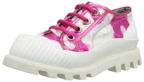 Irregular Choice Slice of Bread, Zapatillas para Mujer, Rosa (Pink Grey), 39 EU