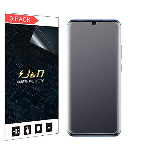 JundD Kompatibel für ZTE Axon 10 Pro 5G Schutzfolie, 3er Packung [Antireflektierend] [Anti Fingerabdruck] [Nicht Ganze Deckung] Matte Folie Bildschirmschutzfolie für ZTE Axon 10 Pro 5G Bildschirmschutz