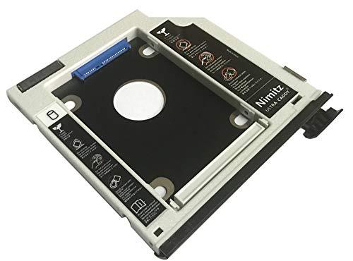 ULTRAACADDY 2. HDD SSD Festplatten-Caddy für Dell Latitude E6440 E6540 Precision M2800